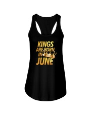 Kings Are Born in June Ladies Flowy Tank thumbnail