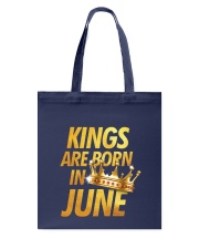 Kings Are Born in June Tote Bag thumbnail