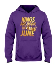 Kings Are Born in June Hooded Sweatshirt thumbnail