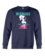 Mermaids Are Born in June Crewneck Sweatshirt thumbnail