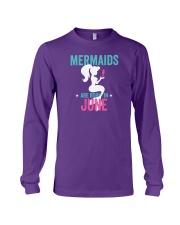 Mermaids Are Born in June Long Sleeve Tee thumbnail