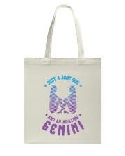 June Girl an Amazing Gemini Tote Bag thumbnail