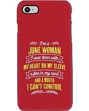 I'm a June Woman Phone Case thumbnail