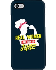 Real Women are Born in June Phone Case thumbnail