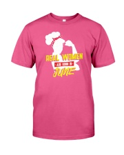 Real Women are Born in June Premium Fit Mens Tee thumbnail