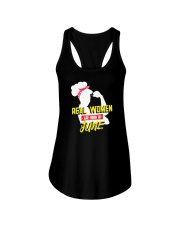 Real Women are Born in June Ladies Flowy Tank thumbnail