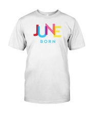 June Born Classic T-Shirt front