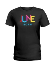 June Born Ladies T-Shirt thumbnail