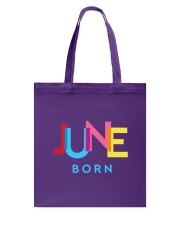 June Born Tote Bag thumbnail