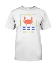 June Cancer Classic T-Shirt front