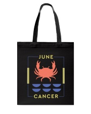 June Cancer Tote Bag thumbnail