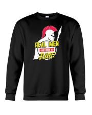 Real Men are Born in June Crewneck Sweatshirt thumbnail