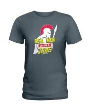 Real Men are Born in June Ladies T-Shirt thumbnail