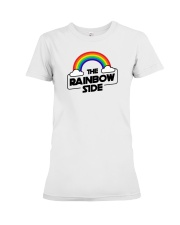 The Rainbow Side Premium Fit Ladies Tee thumbnail