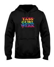 Yass Gurl Werk Hooded Sweatshirt thumbnail