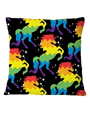 Unicorn Pattern Square Pillowcase thumbnail