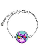 Purride Pattern Metallic Circle Bracelet thumbnail