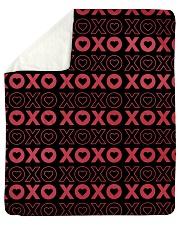 """XOXO Sherpa Fleece Blanket - 50"""" x 60"""" thumbnail"""