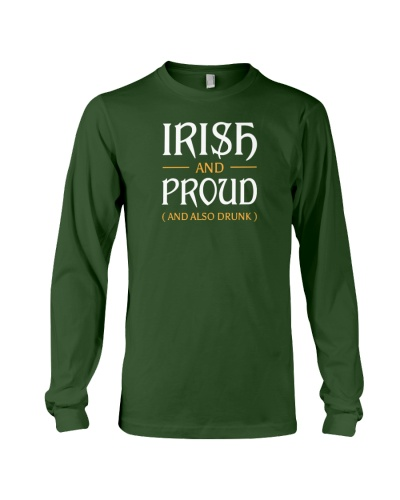 Irish and Proud and Also Drunk