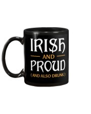 Irish and Proud and Also Drunk Mug back