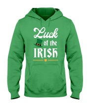 Luck of the Irish Hooded Sweatshirt thumbnail