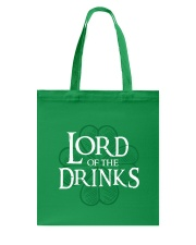 Lord of the Drinks Tote Bag front