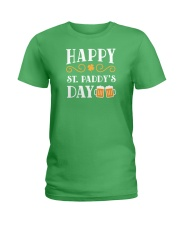 Happy St Patrick's Day Ladies T-Shirt thumbnail