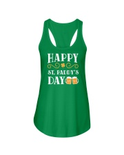 Happy St Patrick's Day Ladies Flowy Tank thumbnail
