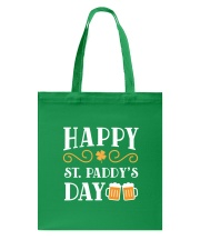 Happy St Patrick's Day Tote Bag back