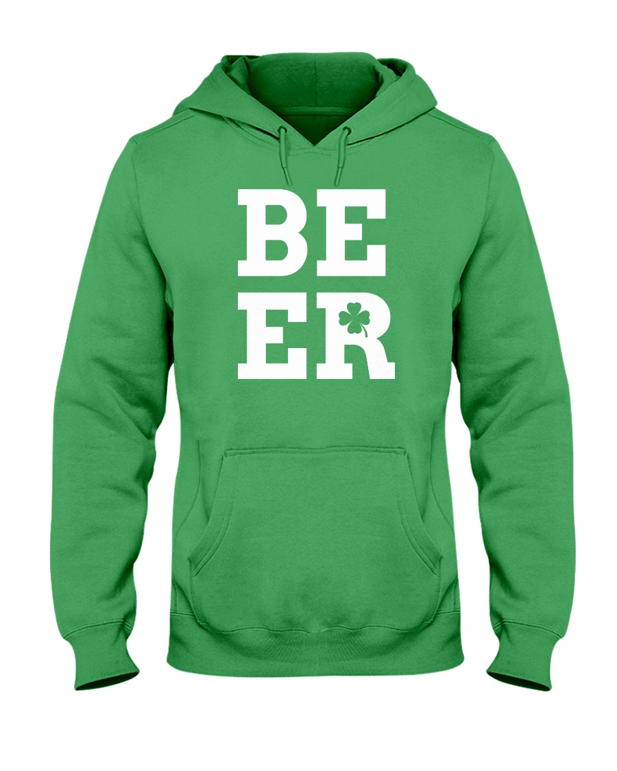 Beer for St Patrick's Day Hooded Sweatshirt