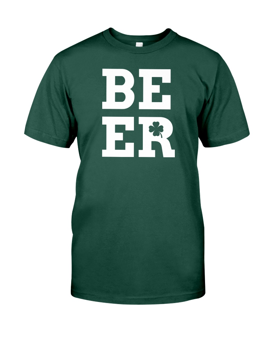 Beer for St Patrick's Day Premium Fit Mens Tee