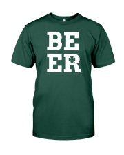 Beer for St Patrick's Day Premium Fit Mens Tee front