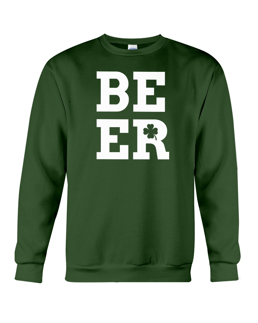Beer for St Patrick's Day Crewneck Sweatshirt