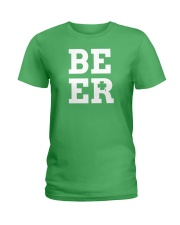 Beer for St Patrick's Day Ladies T-Shirt front