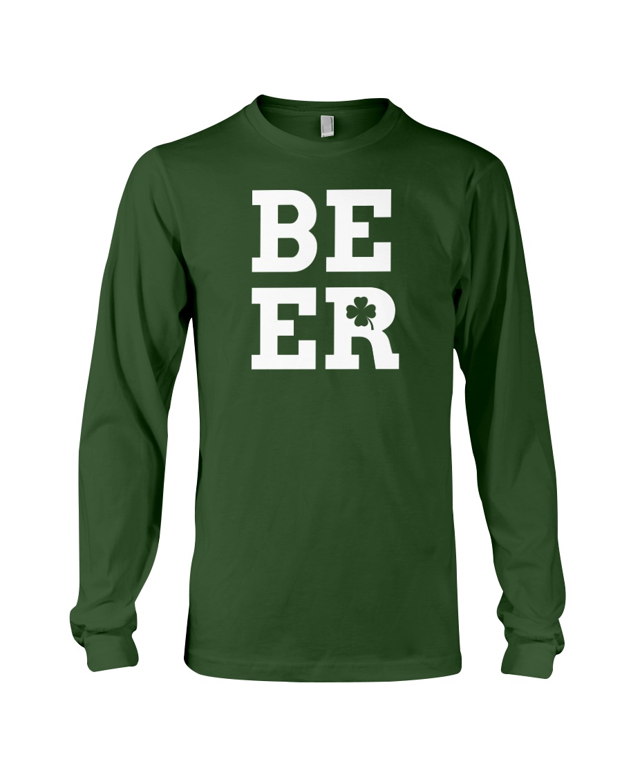 Beer for St Patrick's Day Long Sleeve Tee