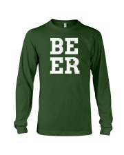 Beer for St Patrick's Day Long Sleeve Tee front