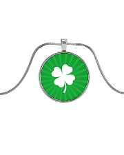 Irish Pride Metallic Circle Necklace tile