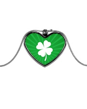 Irish Pride Metallic Heart Necklace thumbnail