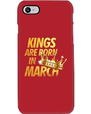 Kings Are Born in March Phone Case tile