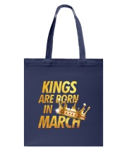 Kings Are Born in March Tote Bag thumbnail