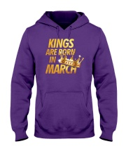 Kings Are Born in March Hooded Sweatshirt tile