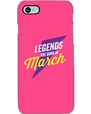 Legends Are Born in March Phone Case thumbnail