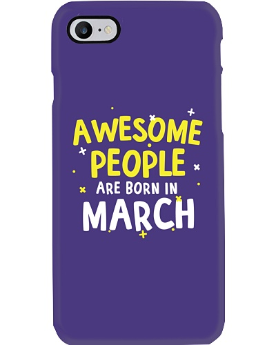 Awesome People Are Born In March