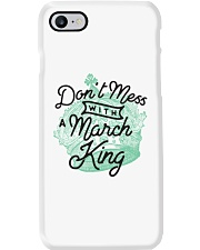 Don't Mess With a March King Phone Case thumbnail