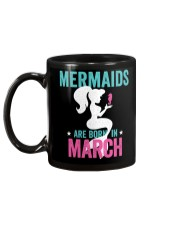 Mermaids Are Born in March Mug back