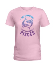 March Girl an Amazing Pisces Ladies T-Shirt thumbnail