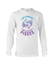 March Girl an Amazing Pisces Long Sleeve Tee thumbnail