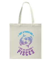 March Girl an Amazing Pisces Tote Bag thumbnail