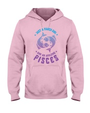 March Girl an Amazing Pisces Hooded Sweatshirt thumbnail