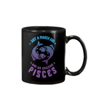 March Girl an Amazing Pisces Mug front